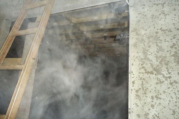 Máy phun sương nhà yến