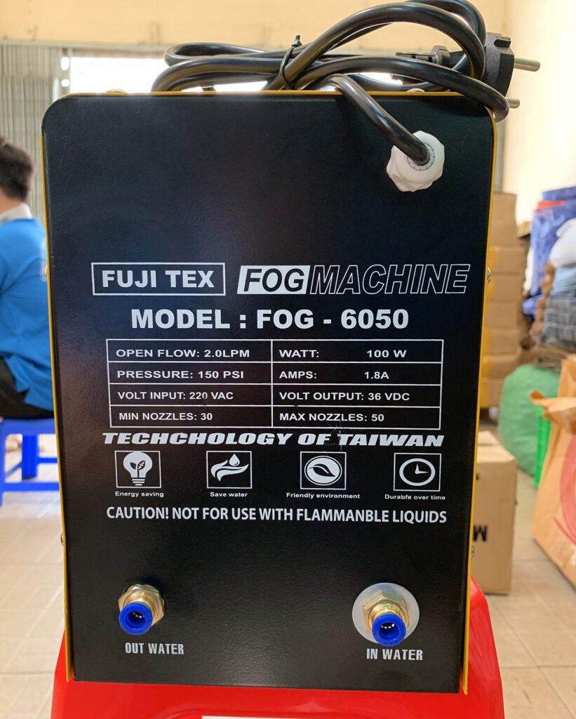 Máy phun sương fog 6050