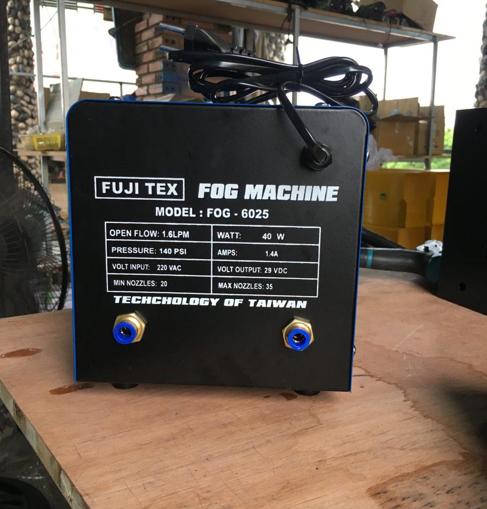 máy phun sương fujitex 6025