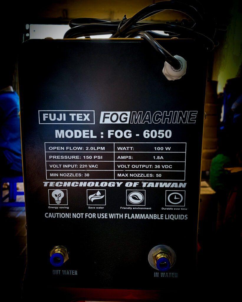 may phun suong fujitex 6050