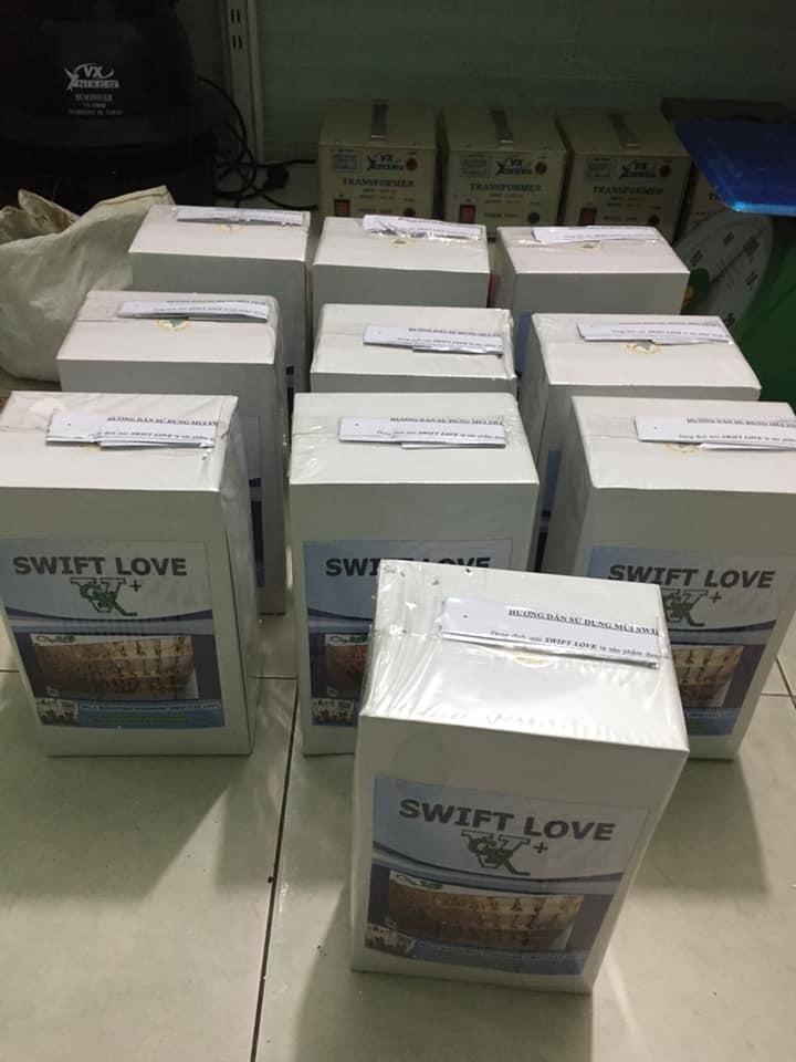 dung dịch nhà yến Swift Love