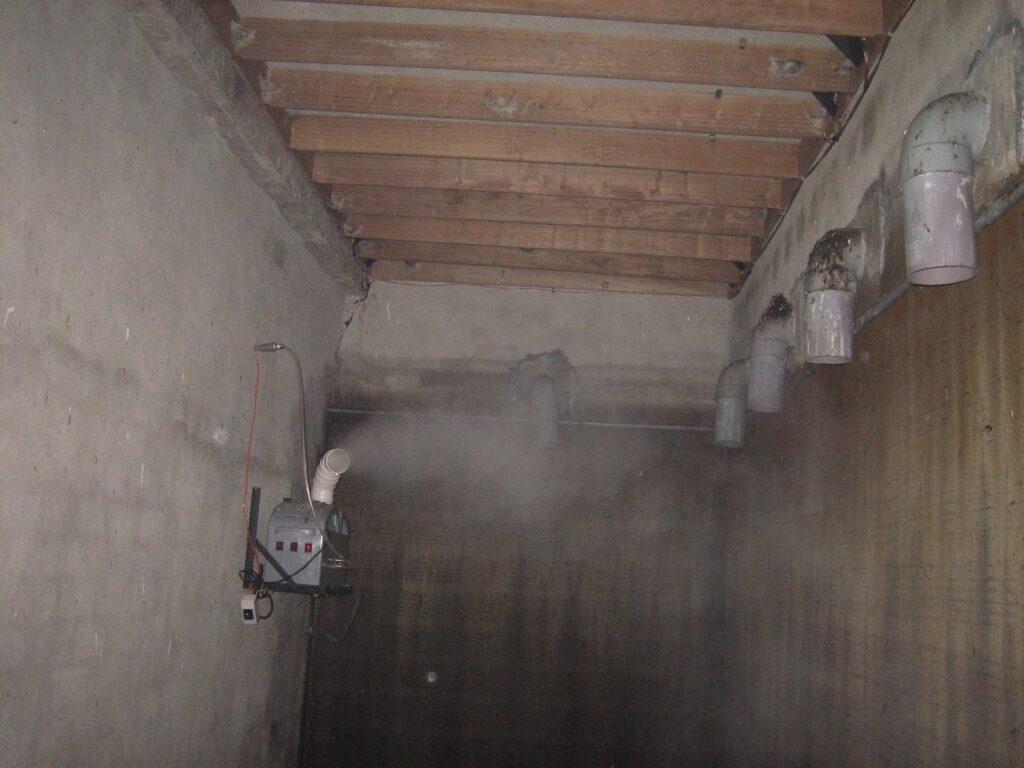 Nguyên lý hoạt động của máy phun sương
